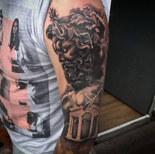 Greek Tattoo On Arm 28