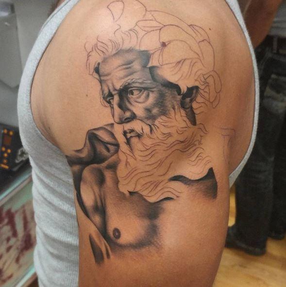Greek Tattoo On Arm 30