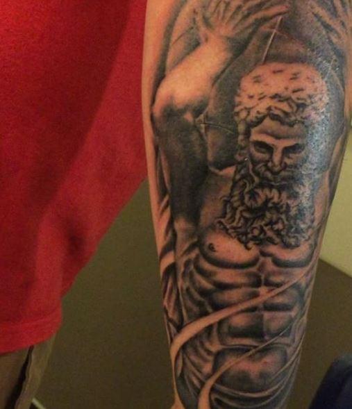 Greek Tattoo On Arm 31