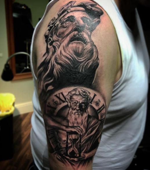 Greek Tattoo On Arm 4