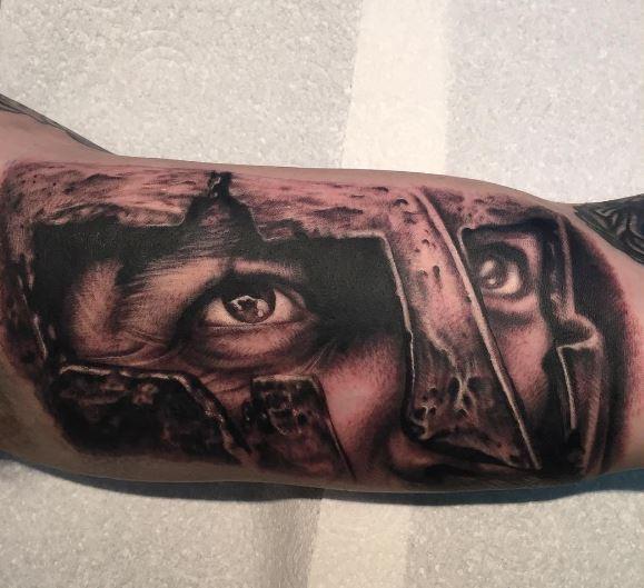 Greek Tattoo On Arm 43