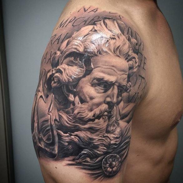 Greek Tattoo On Arm 47