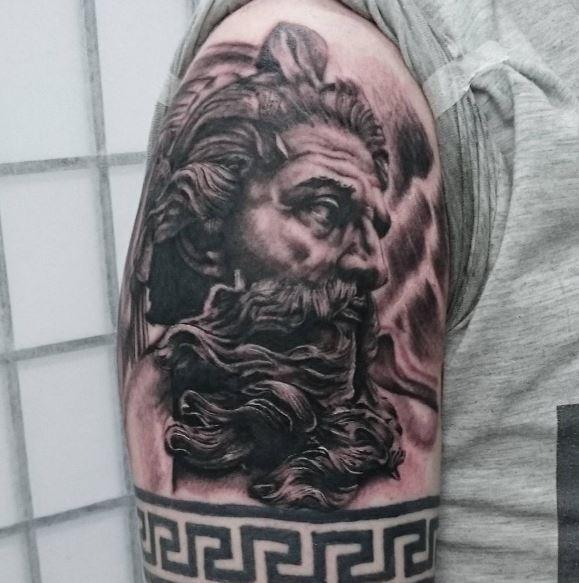 Greek Tattoo On Arm 6