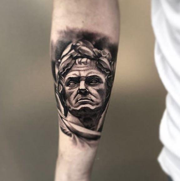 Greek Tattoo On Arm 9