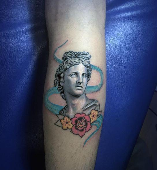 Greek Tattoo On Arm
