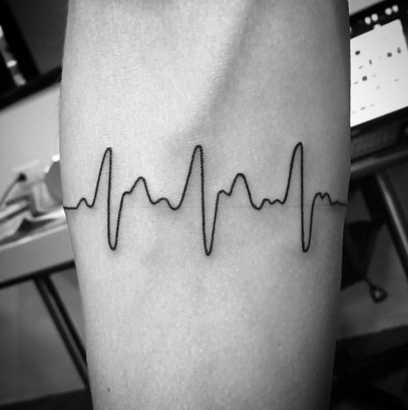 Heart Beat Bracelet Tattoos Design And Ideas