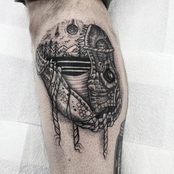 Landscape Tattoo Artist