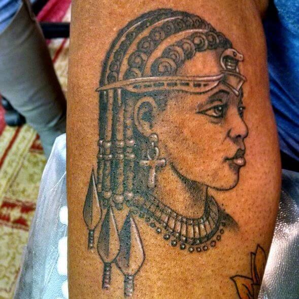 New African Tattoos Design For Women