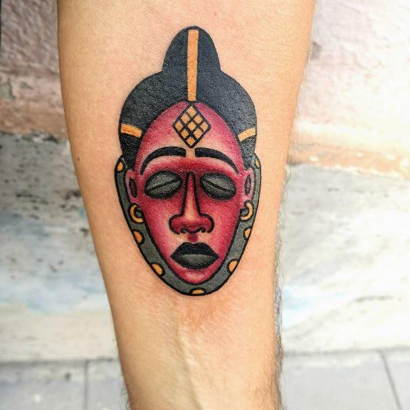 Nice African Tattoos Design And Ideas