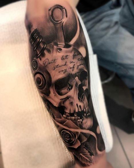 Realistic Tattoo 5