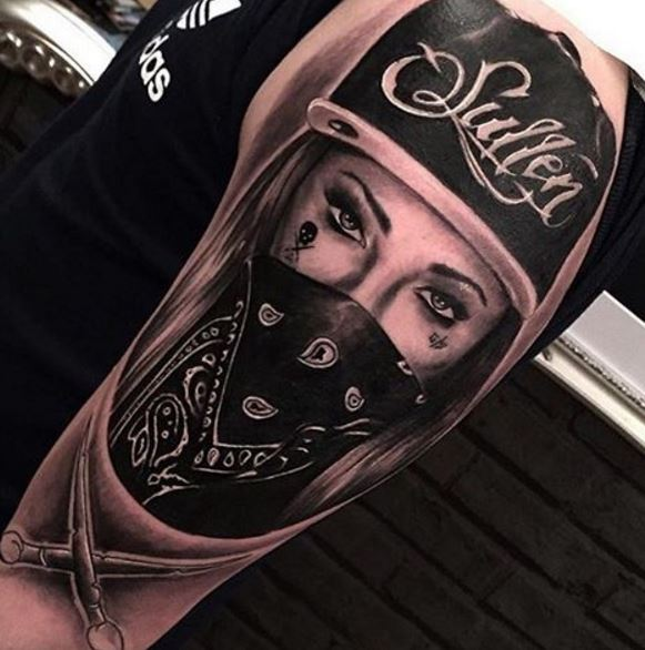 Realistic Tattoo On Arm 10