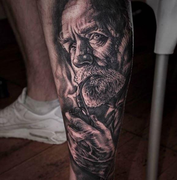 Realistic Tattoo On Arm 12
