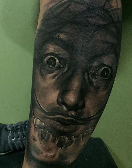 Realistic Tattoo On Arm 15