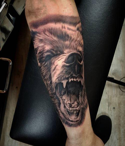 Realistic Tattoo On Arm 18