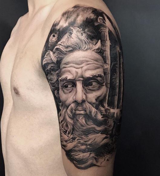 Realistic Tattoo On Arm 19