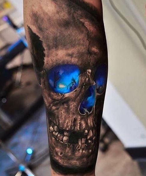 Realistic Tattoo On Arm 2