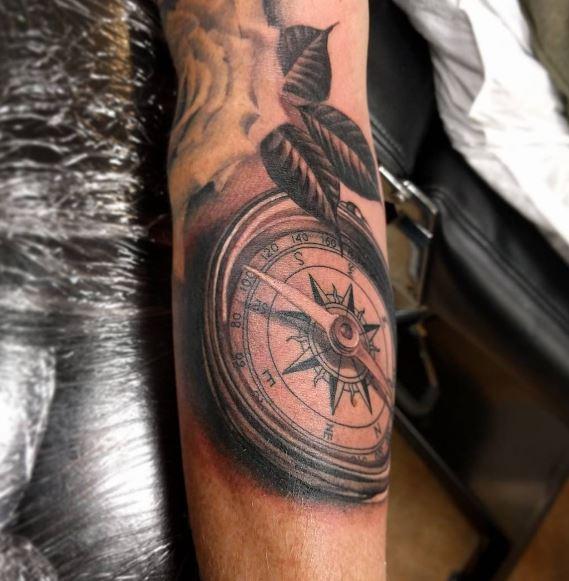 Realistic Tattoo On Arm 20