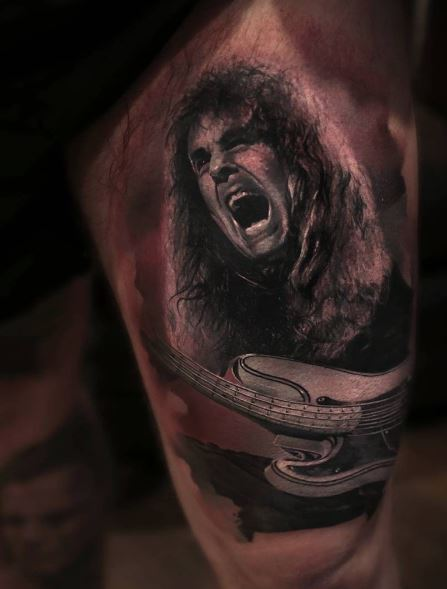 Realistic Tattoo On Arm 27