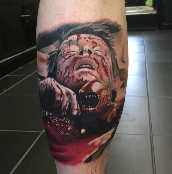 Realistic Tattoo On Arm 29