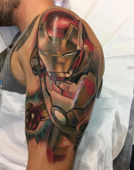 Realistic Tattoo On Arm 3