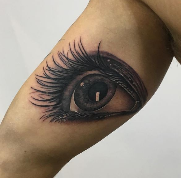 Realistic Tattoo On Arm 30