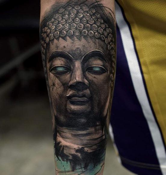 Realistic Tattoo On Arm 32