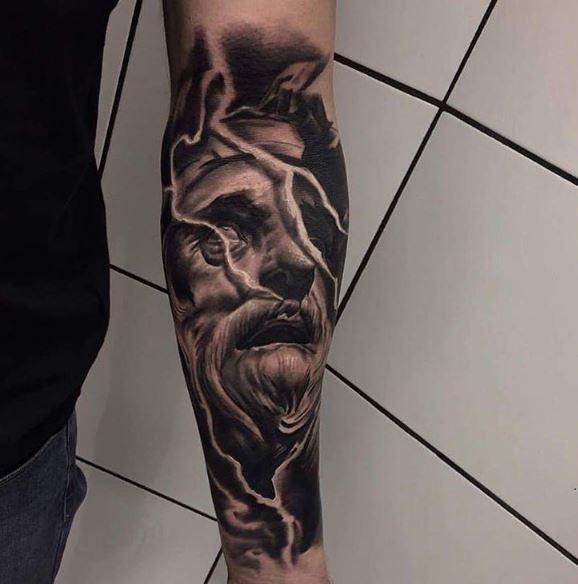 Realistic Tattoo On Arm 35