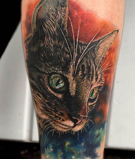 Realistic Tattoo On Arm 37