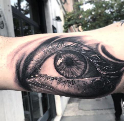 Realistic Tattoo On Arm 39