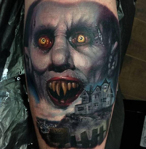 Realistic Tattoo On Arm 4