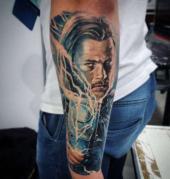 Realistic Tattoo On Arm 40