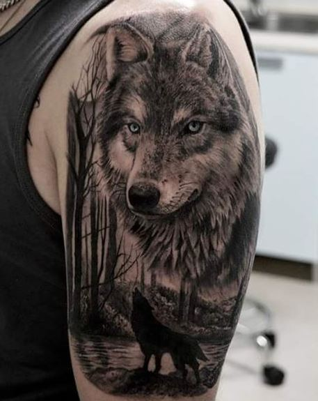 Realistic Tattoo On Arm 41