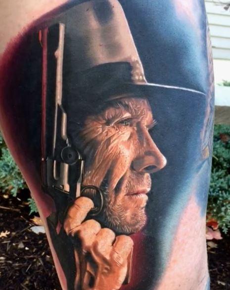 Realistic Tattoo On Arm 47