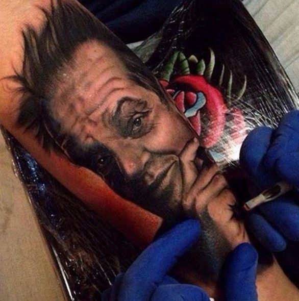 Realistic Tattoo On Arm 7