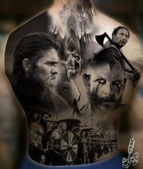 Realistic Tattoo On Body 3