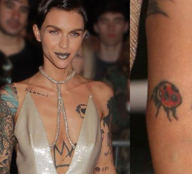 ruby rose tattoos meaning