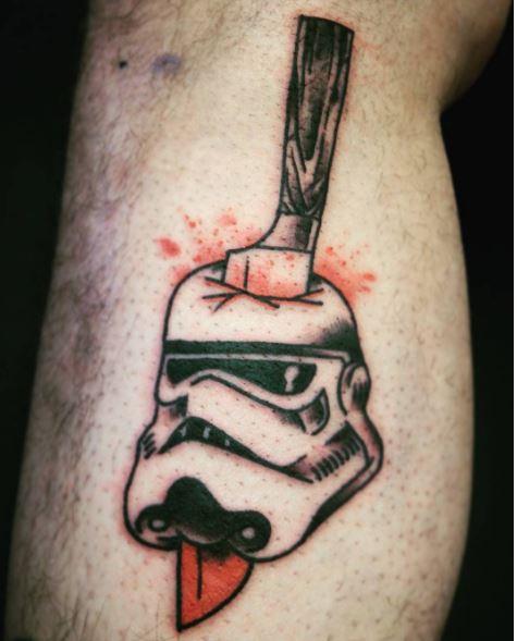 Star Wars Army Tattoos Design And Ideas
