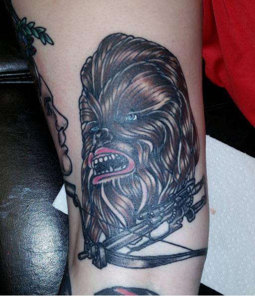 Star Wars Chewbacca Tattoos Ideas
