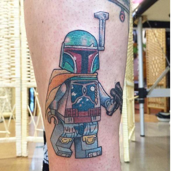 Star Wars Lego Tattoos Design And Ideas