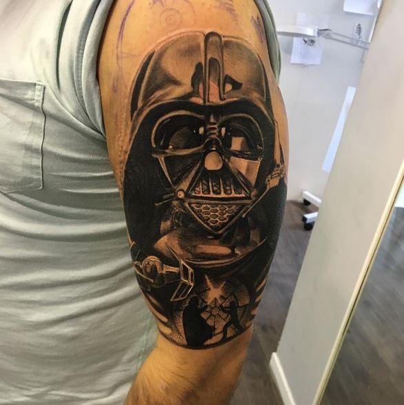 Star Wars Sleeve Tattoos Design And Ideas