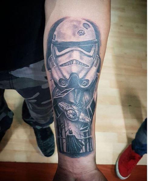 Star Wars Stromtrooper Tattoos Design And Ideas