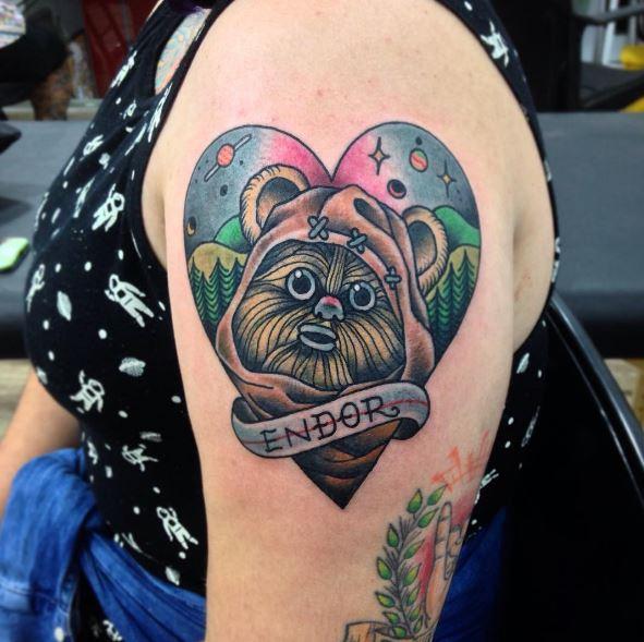 Star Wars Tattoos Design For Girls