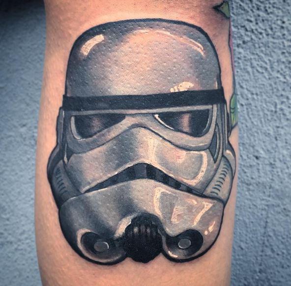 Star Wars Troop Tattoos Design On Legs