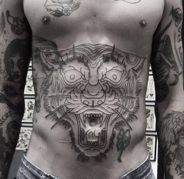 Tiger Tattoo On Body 4