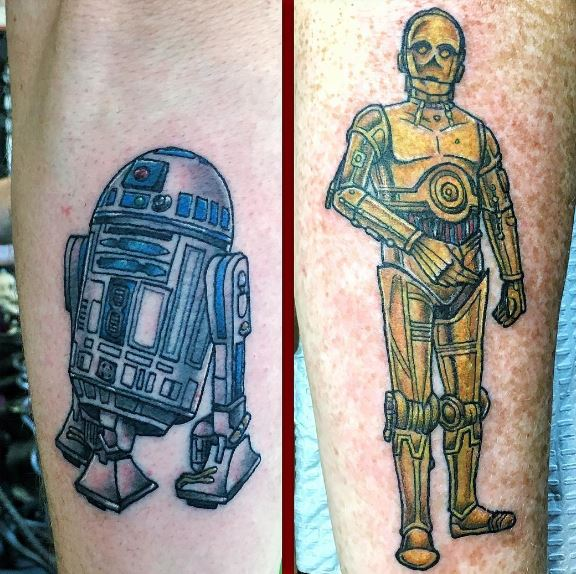 Top 2016 Star Wars Tattoos Design And Ideas