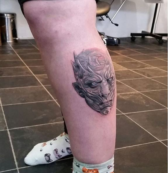 White Walker Game Of Thrones Tattoos Design And Ideas