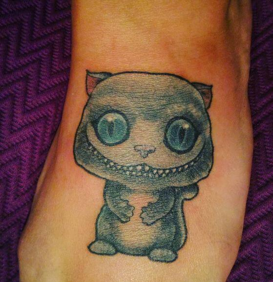 Alice In Wonderland Tattoos For Men