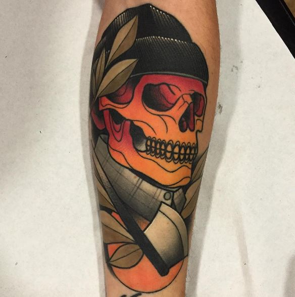 American Traditional Tattoos Oliver Peck