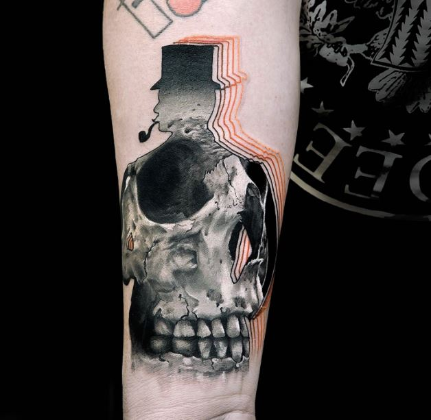 Badass Skull Tattoos