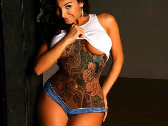 Belly Button Tattoos For Females (72)